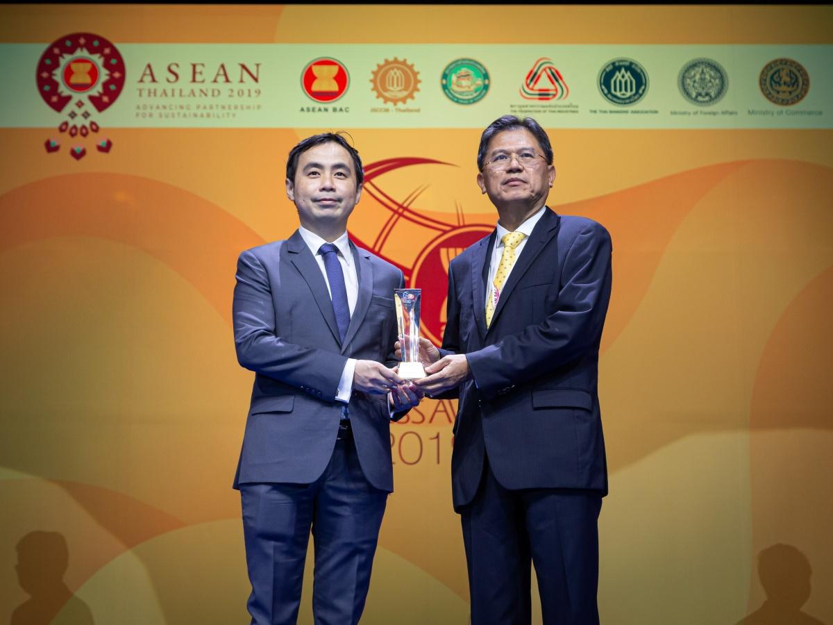 รางวัล ASEAN Business Awards 2019 – Innovation Award