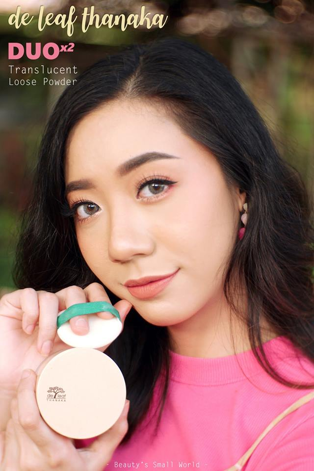 REVIEW De leaf Thanaka DUO Translucent Powder by Beauty's Small World