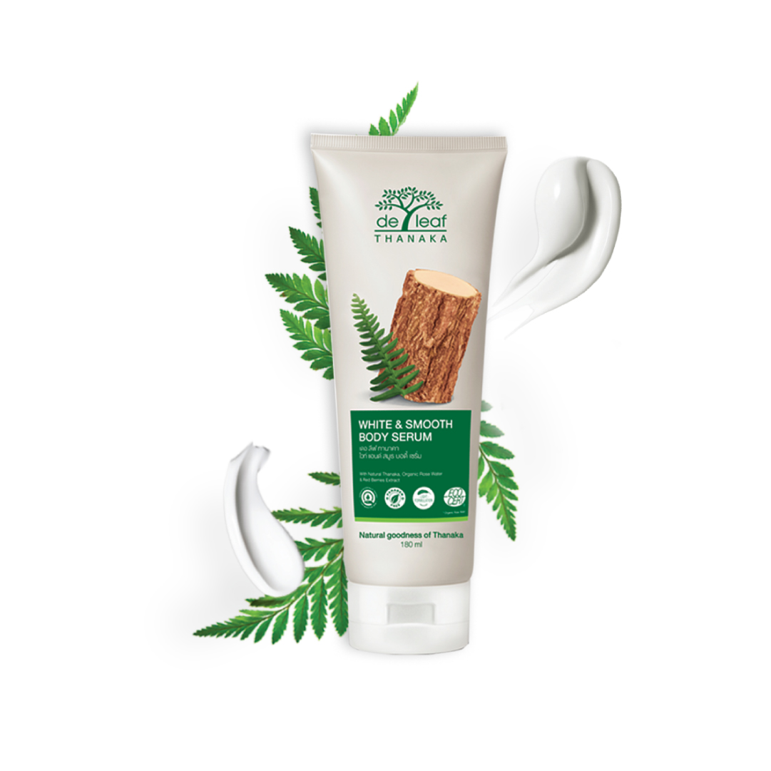 De Leaf Thanaka White & Smooth Body Serum